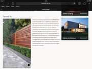 One of our bespoke fences featured on Homify