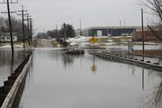 Abram Creek Floods Sheldon Rd. (Feb. 28, 2011)