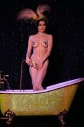 Dita in bath