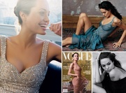 Angelina Jolie Throughout the years in Vogue