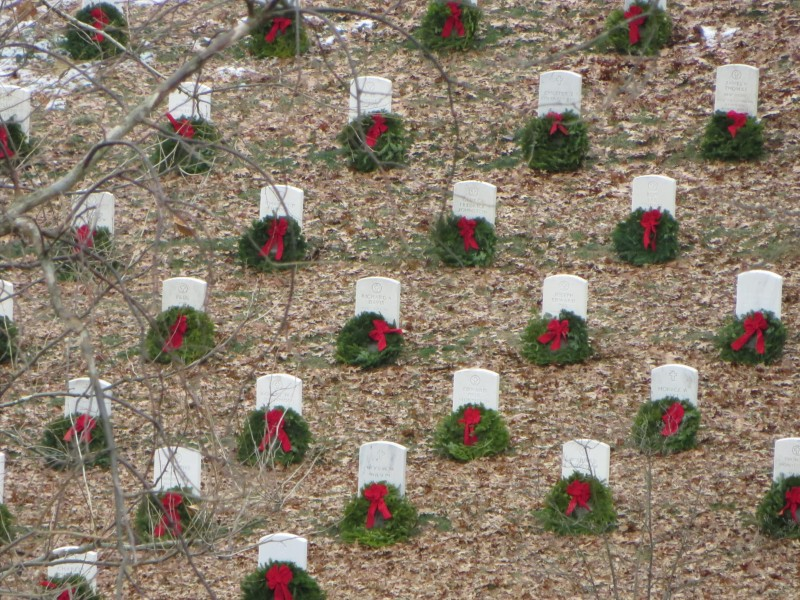 """These are """"In Memory Of"""" headstones at Arlington."""