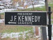 JFK sign at Arlington