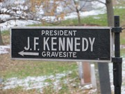 JFK sign at Arlington