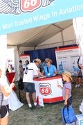 Phillips 66 Aviation tent