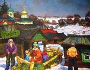 Russian Nostalgic Impressionism