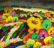 Autumn dark-yellow.