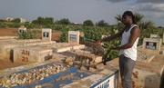 """Soum Bill sur la tombe de Thomas Sankara: """"je suis choqué"""""""