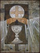 Eucharist door