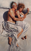 """""""The Marriage"""" Oil on Canvas, 44x72"""" 2013"""