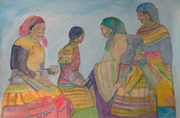 The Visitation_Flower Hmong_by Susangeline Patrick