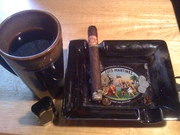 MR Fuente and some morning coffee