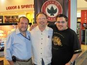 Left to right: Dr. Alejandro Martinez Cuenca, Bob Gregorchuk & Jonathan Drew