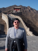 Bob near top the Great Wall