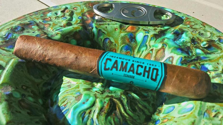 Camacho Ecuador and pina coladas on the patio.