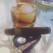 Still here, FedHeads. La Zona Habano and a Woodford Reserve Old Fashioned.