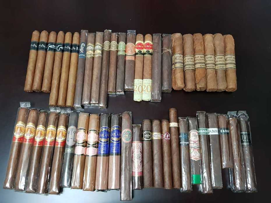 BWS S&R La Aurora 107 Cosecha and a few singles n pairs I've been wanting to try or have a few more of.