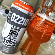 02210 by Carton Brewing in collaboration with Trillium Brewing.  So juicy!