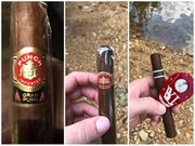 Few cigars camping this weekend.