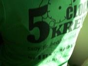 5 O'Clock KREW Tee