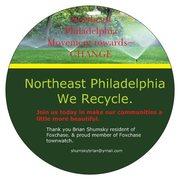 Northeast Philadelphia We recycle