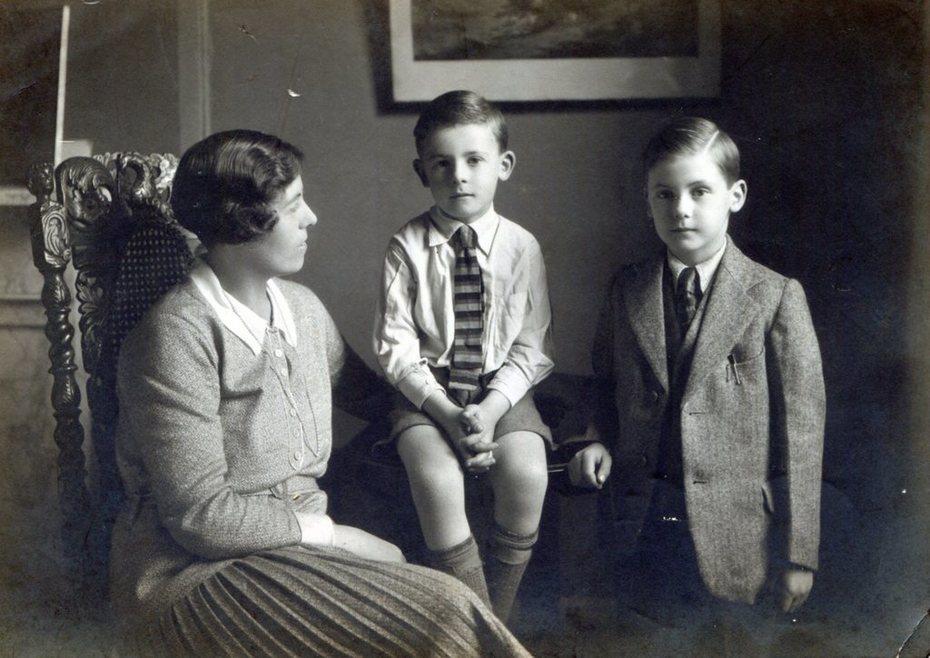 Monica, David and Peter Cree