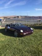The Amethyst Dazzler 1994 Cabriolet at Sonoma Raceway CA