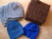 12 PJ's and 6 gifted hats
