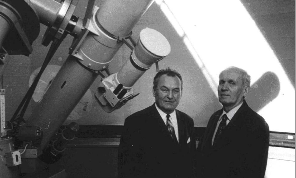 Vilém Gajdušek and František Kozelský