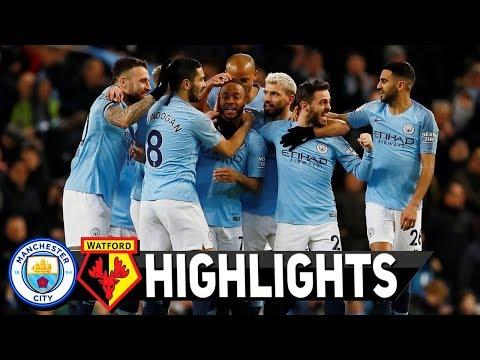 ฟูลแมตช์+ไฮไลท์เต็ม Manchester City 3-1 Watford