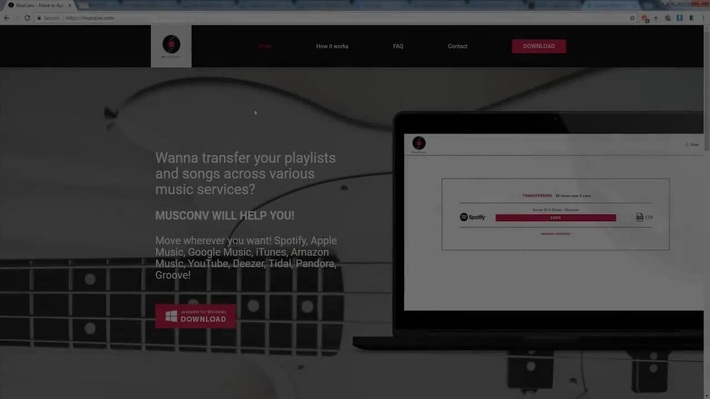 How to Transfer Spotify Playlists to Apple Music; Try MusConv.com