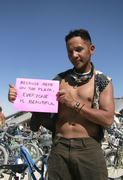 because here on the playa, everyone is beautiful