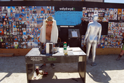 scene from WDYDWYD station at Burning Man