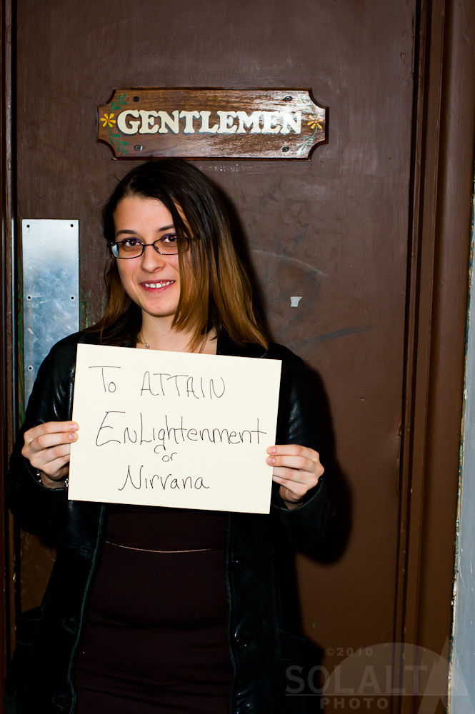 To attain Enlightenment and Nirvana