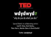 TEDxSF title slide