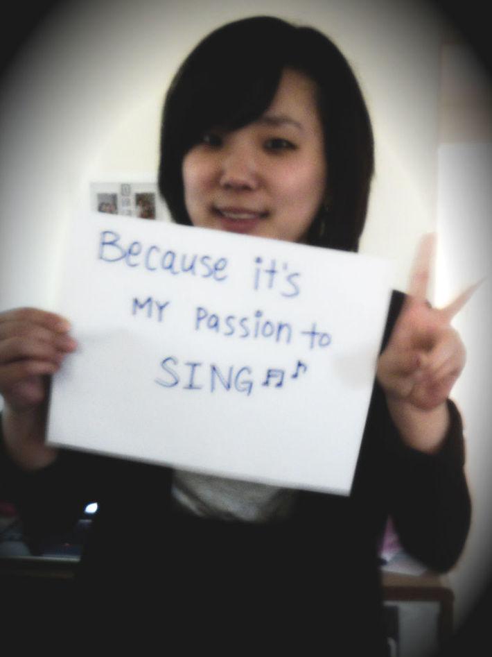 Deborah- Because It's My Passion To Sing