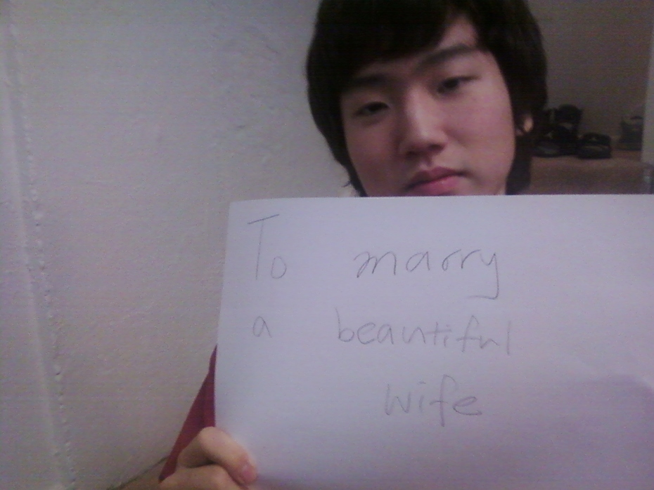 WonJae - To marry a beatiful wife