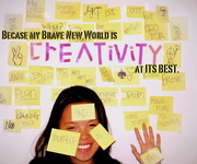 Xin Lin - My brave new world is CREATIVITY at its best.