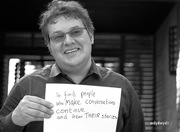 to find people who make conversations continue, and hear their stories - Kevin Marks
