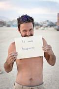 To seek happiness
