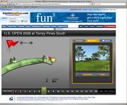 U.S. Open 2008 course