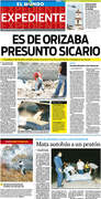 Daily work at El Mundo de Orizaba