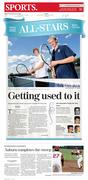 The Citizen, Auburn, NY, June 28 Sports cover