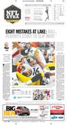 Steelers fall to Browns