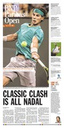 Palm Springs Desert Sun - Tennis special section