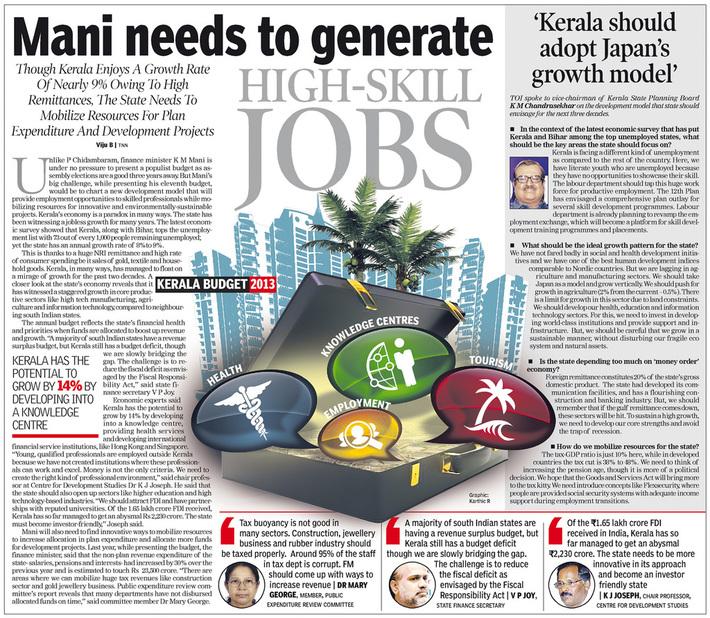 Pre-Kerala Budget 2013a