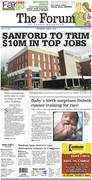 Sanford to trim $10M in top jobs