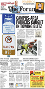 Campus-area parkers caught in towing blitz