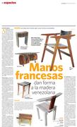 ESPACIOS Muebles Venezolanos en manos francesas