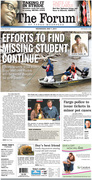 The Forum front page May 7, 2014
