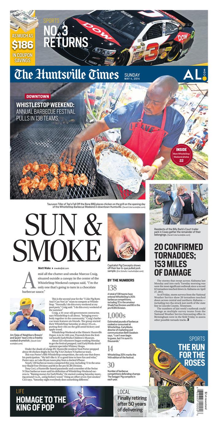 Whistlestop Weekend: Sun & Smoke